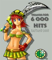 THNKS FOR 6k by Raftand