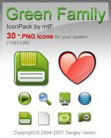 Green Family IP by mtF_PNG by mtFr0st