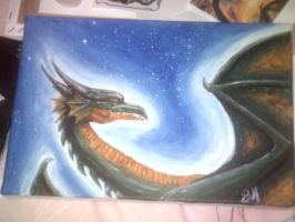 space dragon by beccahanks