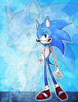 ....Sonic. by ChaoticCookiez