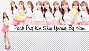 Pack Png Kim Shin Yeong By Hami #29 by alwaysmile19