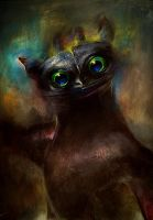 Toothless by alexandrabirchmore