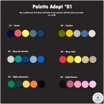 Palette adopt || 01 [OPEN] by bluecafeadopt