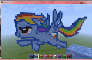 Mine Little Pony Crafting Is Magic RD by cadpig1099
