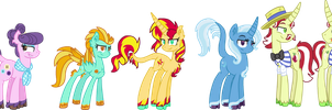 Antagonist Six Unique Style MLP by StarryOak