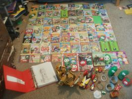 My VeggieTales Collection as of Nov. 11th by JohnMarkee1995