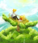 Contest Prize : Top of the World by ChocoVanillaX