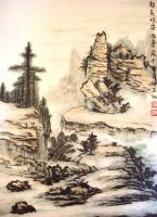 Chinese Painting by Katrix