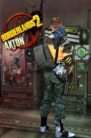 Axton - Borderlands 2 Cosplay Stocking up by Ruun