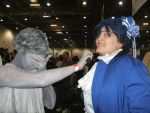 weeping angel by HeatherFrankenstien