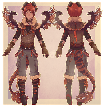 :Comm: outfit for Khrysis by MMtheMayo