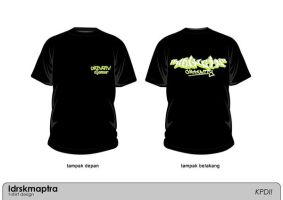 T-shirt For Uringin by Idrskmaptra