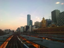 The City Edge of Flinders by Michelle-Kowalczyk