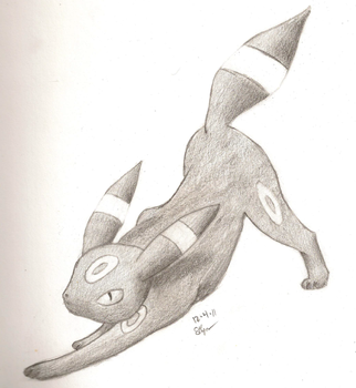 Umbreon by Bluespottedfire