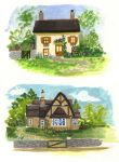 Cottages by nataliebeth
