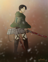 Lance Corporal Rivaille by ardnemla