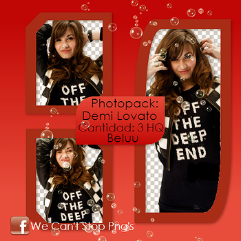 Photopack Png Demi Lovato #13 by BeluuBieberEditions