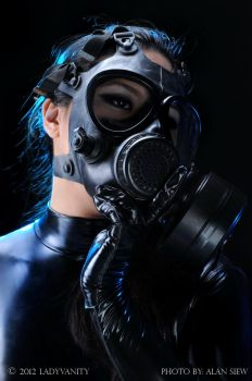 Gasmask/Catsuit by AlexDahmer