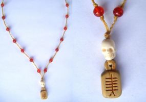 Yew Spirit Necklace by Lolair