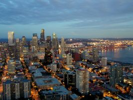Downtown Seattle by pathikrit