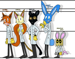 Dr. Scientist's Colleagues by EvilSonic2