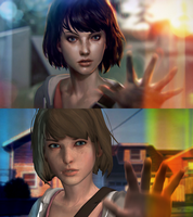 Max Caulfield Concept Art Recreation by forrester961