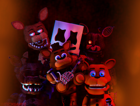 |C4D|ZC AND MARSHMELLOW| by 666TheFoxGamer666