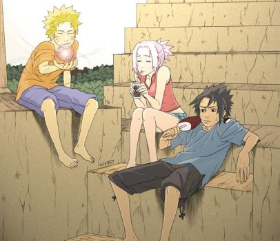 Naruto Summer 2006 Color by osy057