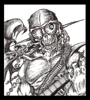 Megadeth Contest: Rattlehead by alexth