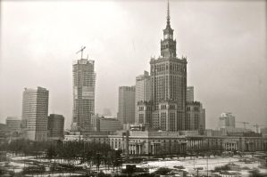 Warsaw Black and White by CarloSosa