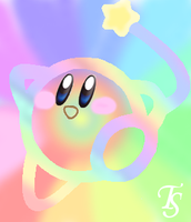 .:Kirby's Rainbow Yarn:. by ArtKirby-XIV