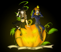 Happy Halloween by AriannLee