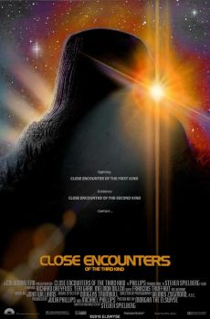Close Encounters of the Third Kind Movie Poster by Elswyse