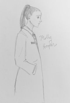 Molly Hooper by mjOboe