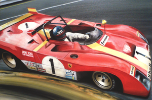 Ickx at Spa 1972 by JamesWoodhead