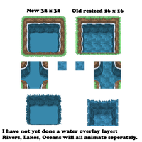Water Tiles HIDEF 32x32 by Of-Nihility