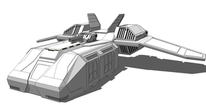 Leopard Dropship WIP 2 by S3dition