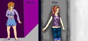 Before n After- Contest Entry by sketch7778