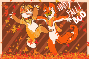 HAPPY FALL LOSERS! by HauntedHomo