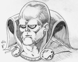 Martian Manhunter Pencil by SirDNA109