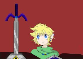 Young Link manga by Jerome2812