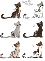 Cat Adoptables ONLY 1 LEFT by LexiIsFailingAtThis