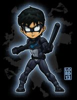Young Justice Invasion- Nightwing by lordmesa
