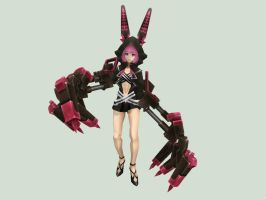 [MMD DOWNLOAD] PSP Black Rock Shooter XNFE (Nafe) by M0fD