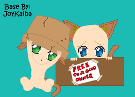 Base: Free Kitties by JoyKaiba