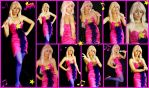 Jem Star Bright Costume Collage by AmmieChan