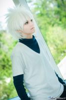 HxH: Killua Zoldyck by lovelyyorange