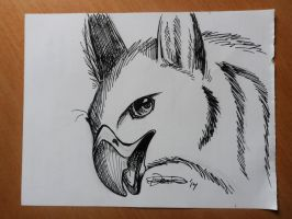 Inktober day 15 by The-fox-of-wonders