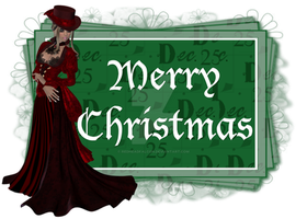 Victorian Merry Christmas by RedHeadFalcon