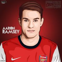 Aaron Ramsey by FROZ18